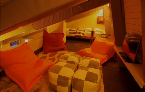 Two Bedroom Suite - Kids Loft Area