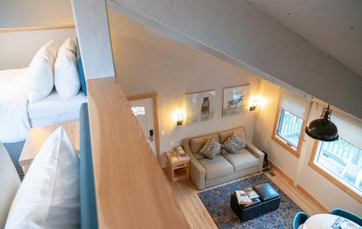 Mountain Cabin - Loft