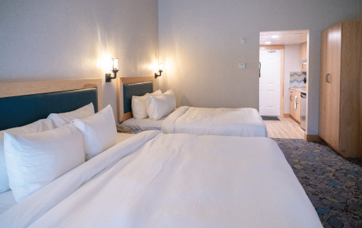 Superior Suite - 1 King & 1 Queen Bed