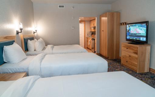 Superior Suite - 1 Queen & 2 Twin Beds