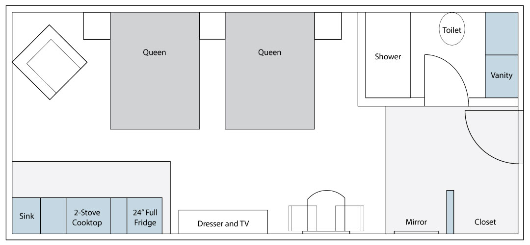 Standard Suite Floorplan