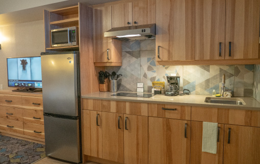 Standard Suite - kitchen
